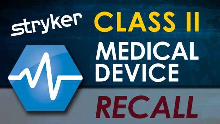 Stryker Class 2 Recall